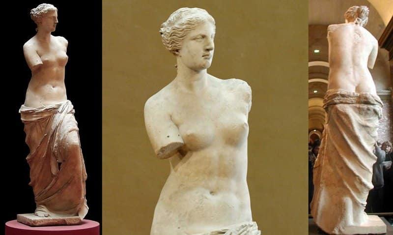 Venus de Milo escultura