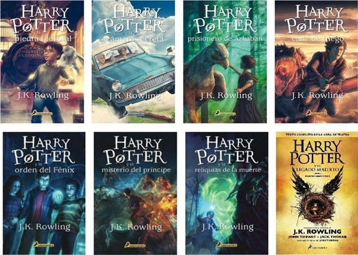 Libros más famosos - Harry Potter