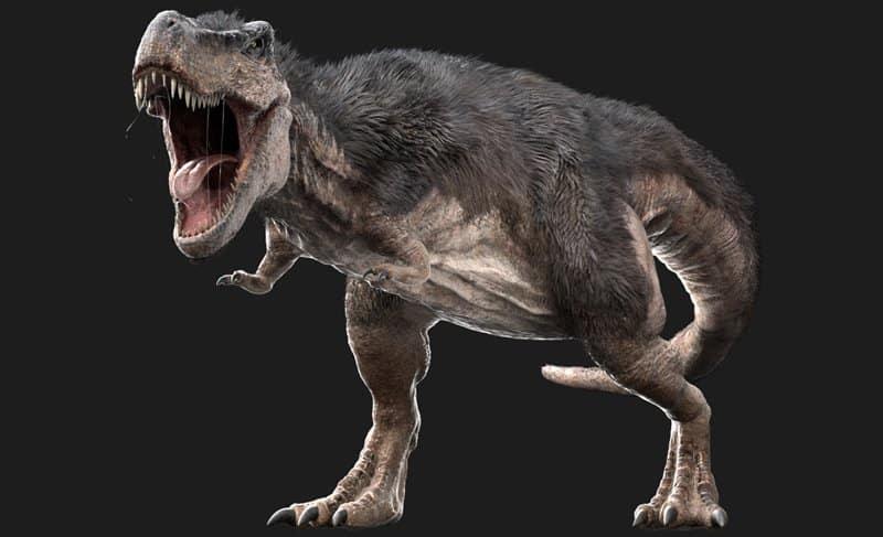 Tyrannosaurus rex - dinosaurios más peligrosos
