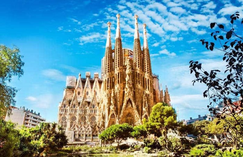 Antoni Gaudí Sagrada familia Barcelona