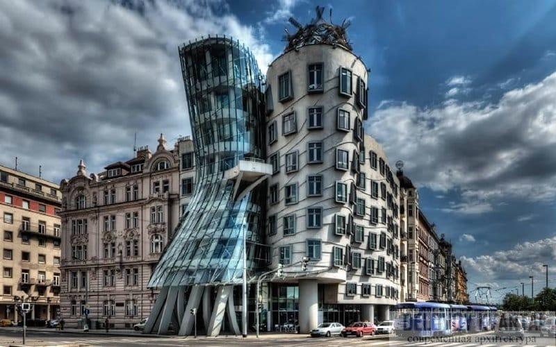 Casa danzante de Praga - Frank Gehry
